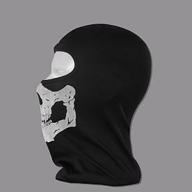 Шапка Феска (Балаклава) череп Ghost Modern Warfare