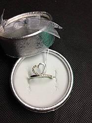 Серебряное изящное кольцо Мила