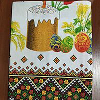 Скатерть Пасхальная 120-150 см, фото 1
