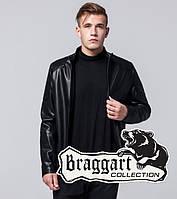 Черная куртка демисезонная мужская Braggart 4129R