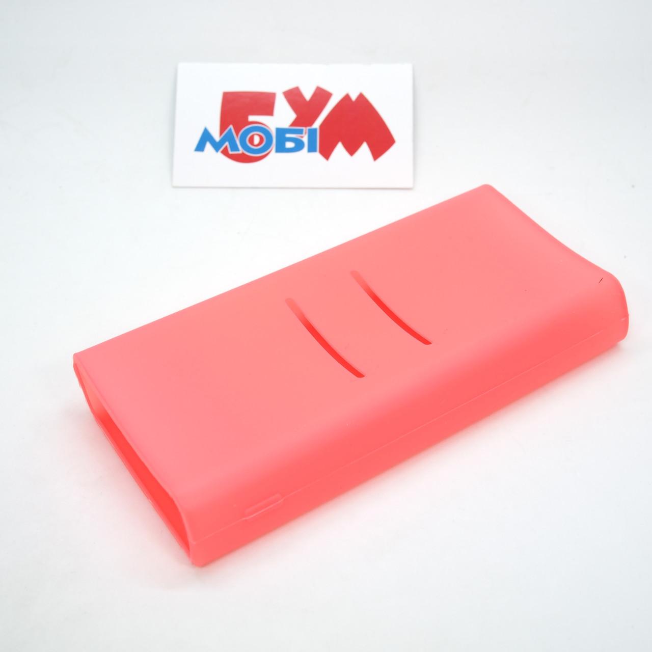 Силиконовый чехол Xiaomi Mi Power Bank 2C 20000mAh pink (SPCCXM20P)