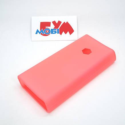 Силиконовый чехол Xiaomi Mi Power Bank 2C 20000mAh pink (SPCCXM20P), фото 2