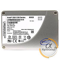 "Накопитель SSD 2.5"" 60GB Intel 330 Series SSDSC2CT060A3 (SATA III) БУ"