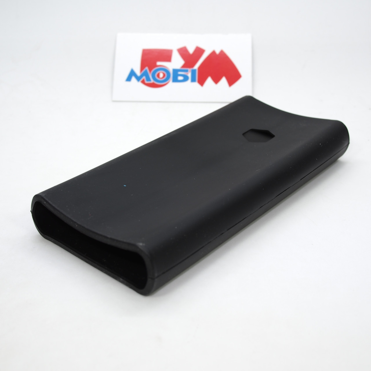 Силиконовый чехол Xiaomi Mi Power Bank 2C 20000mAh black (SPCCXM20B)