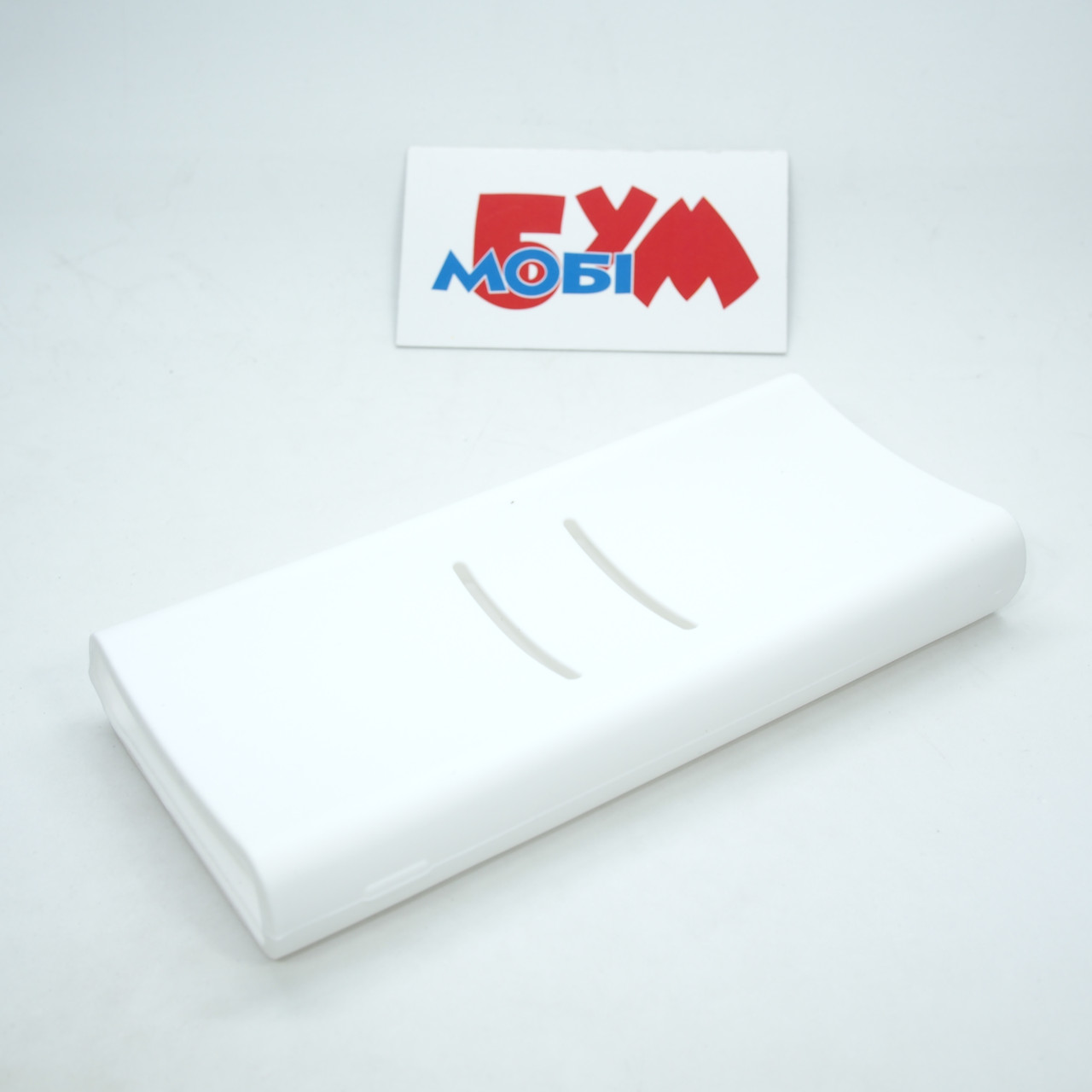 Силиконовый чехол Xiaomi Mi Power Bank 2C 20000mAh white (SPCCXM20W)