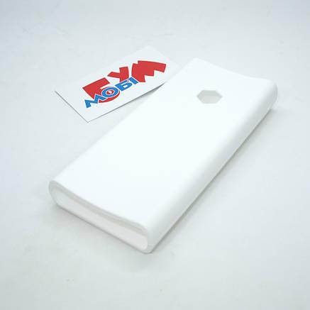 Силиконовый чехол Xiaomi Mi Power Bank 2C 20000mAh white (SPCCXM20W), фото 2