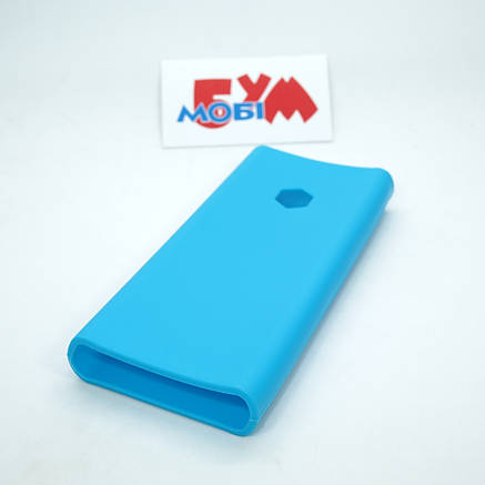 Силиконовый чехол Xiaomi Mi Power Bank 2C 20000mAh blue (SPCCXM20U), фото 2