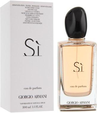 парфюмерная вода женская духи Giorgio Armani Si 100 мл цена 528