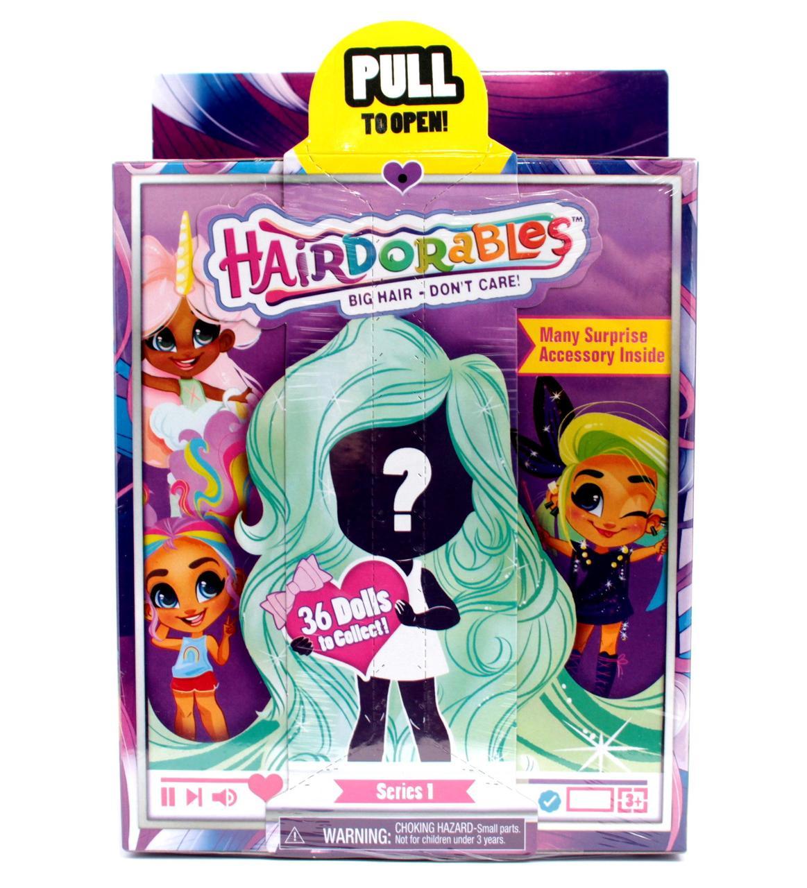 Коллекционная кукла Хэрдораблс первый сезон Hairdorables Dolls игровой набор-сюрприз (реплика)