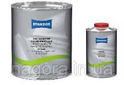 Грунт Наполнитель U7580 Standox VOC Nonstop, серый (3,5л) +отвердитель HS (1л)
