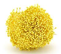 Тычинки для цветов капельки, желтые