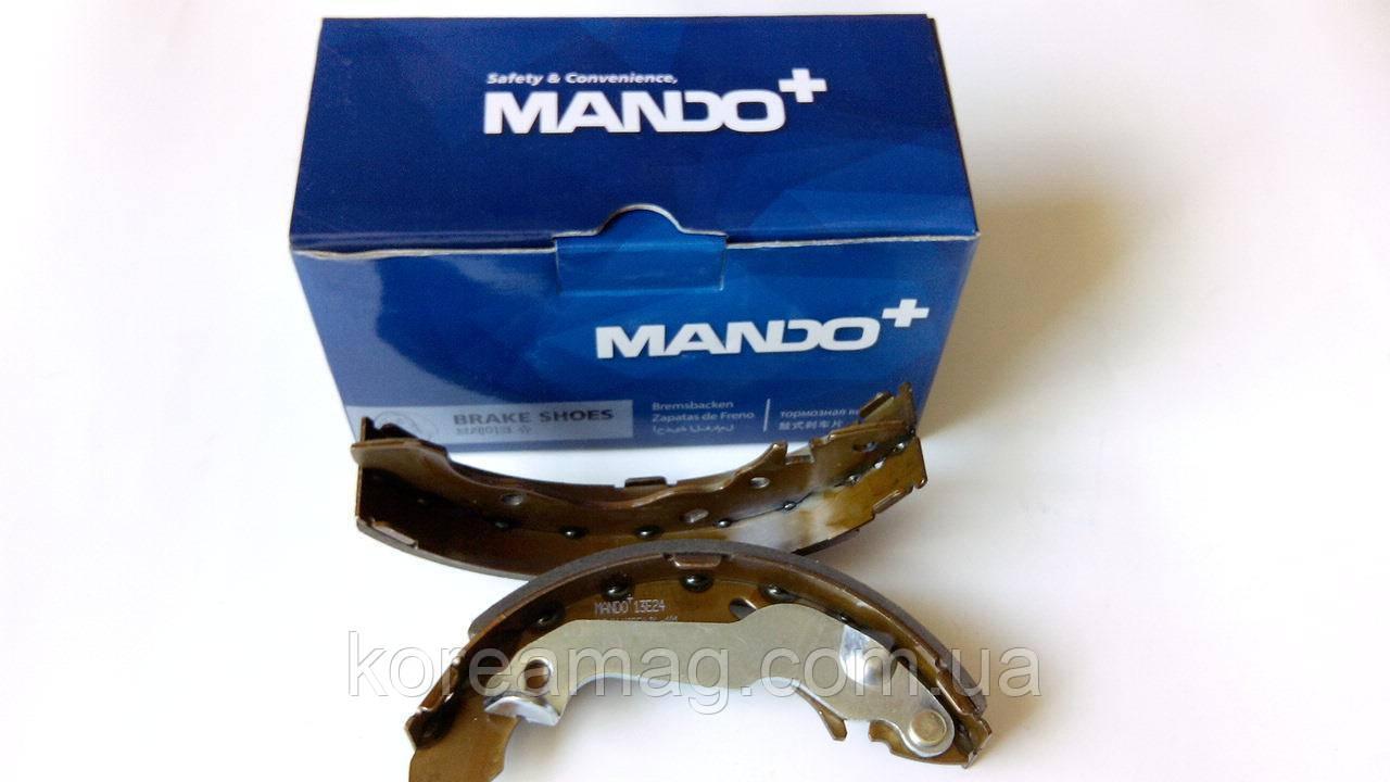Колодки гальмівні задні барабанні Kia Rio 2006-2010 (пр-во Mando)