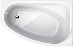 MYSTERY ванна асимметричная 140*90см правая в комплекте с ножками SN7 и элементами крепления