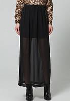 Женская юбка макси в черном цвете  LOVIS Maxi skirt от Minimum в размере S