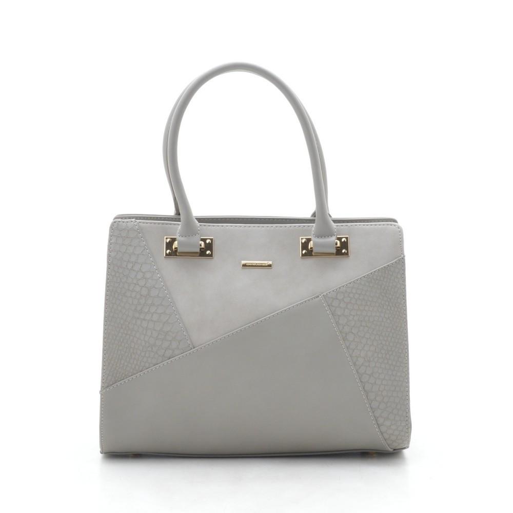 0e2088a7f2e1 Женская сумка David Jones серая - Kit Bag - женские сумки, кошельки и  клатчи в