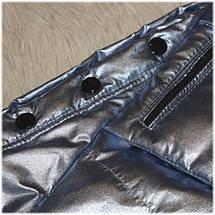 Куртка с капюшоном на девочку весна серебро размер  116 122, фото 2