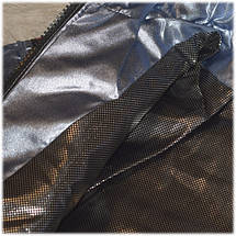 Куртка с капюшоном на девочку весна серебро размер  116 122, фото 3