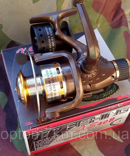 Катушка безынерционная XS-440 металлическая шпуля + пластмасс