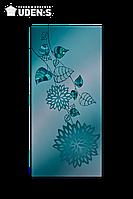 """Дизайн-радиатор """"Голубой лотос"""", фото 1"""