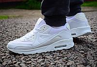 Кроссовки мужские Nike Air Max 90 в белом цвете, фото 1