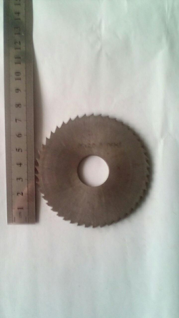 Фреза дисковая отрезная 80х2, Р6М5, Z80,(ГОСТ2679-93)