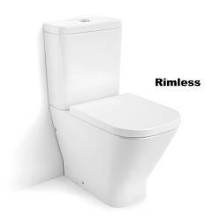 GAP Rimless унитаз напольный, в комплекте с бачком, с сиденьем slow closing