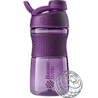 Спортивная бутылка-шейкер BlenderBottle SportMixer Twist 590ml Plum (ORIGINAL), фото 1