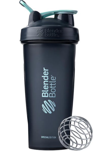 Спортивный шейкер BlenderBottle Classic Loop 820ml Special Edition Glacier Black/Agua (ORIGINAL)