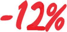 Скидка -12 % на услуги новой почты