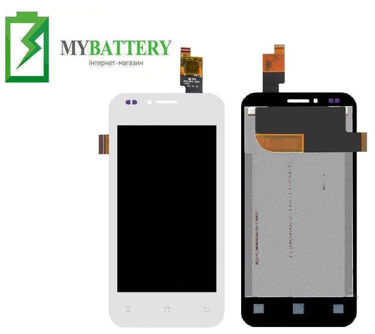 Дисплей (LCD) Fly IQ442 Quad Miracle 2 с сенсором белый