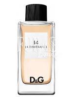 Dolce&Gabbana Anthology La Temperance 14 EDT 100ml Eau de Toilette TESTER