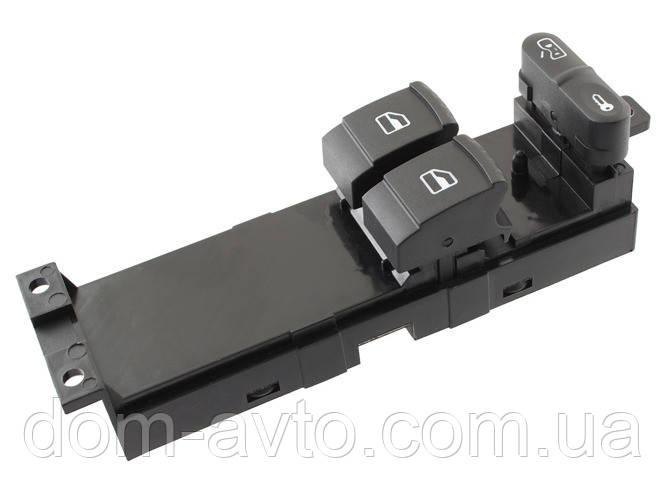 Блок кнопок  стеклоподьемников 1J3959857 Fabia Audi A3 Octavia Passat b5 Golf iv