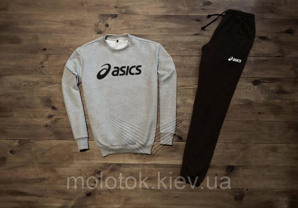 Мужской спортивный костюм Asics 2 отличного качества Реплика