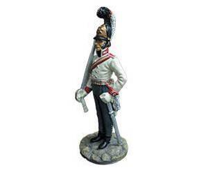 Фигурка оловянная (Eaglemoss) Офицер Кавалергардского полка №30 (1:32)