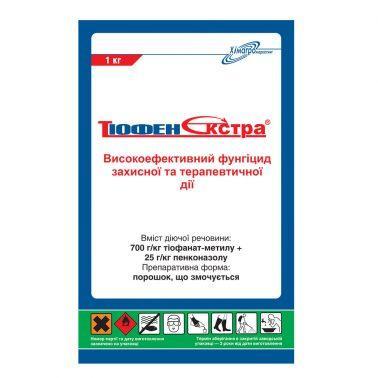Фунгицид Тиофен - экстра, (аналог Топсин М + Топаз), тіофанат-метил 700 г/кг і пенконазол, 25 г/л