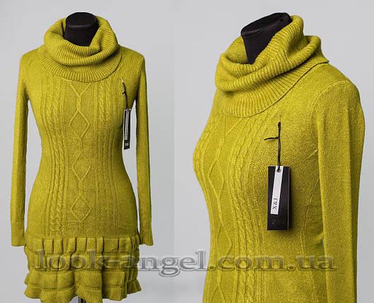 """Мягкий женский свитер """"кашемир"""" 50/52 размер, фото 2"""