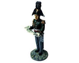 Фигурка оловянная (Eaglemoss) Генерал Свиты Его Императорского Величества №39 (1:32)
