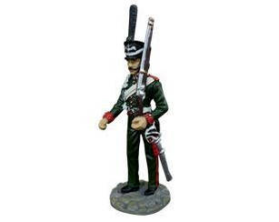 Фигурка оловянная (Eaglemoss) Рядовойлейб-гвардии Конно-егерского полка №40 (1:32)