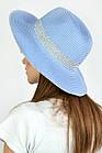 Челентанка Famo Шляпа федора Мауи синяя - 137228, фото 4