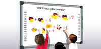 Интерактивная  доска   INTECH RE80A (Функция умный лоток, позволяющая распознавать цвет маркера)