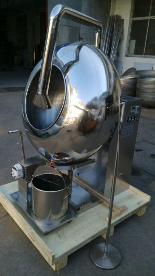 Дражировочная машина (барабан) BY100 с системой подачи глазури (шоколада)