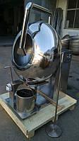 Дражировочная машина (барабан) BY100 с системой подачи глазури (шоколад)