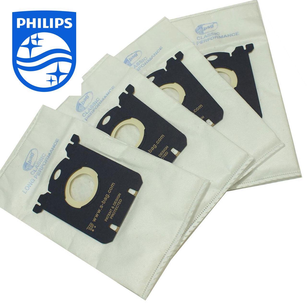 Комплект мешков к пылесосу Philips S-BAG Classic Long Performance (4 шт)