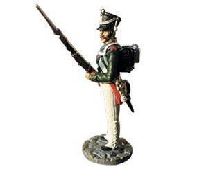 Фігурка олов'яна (Eaglemoss) Штаб-офіцер Гродненського гусарського полку №45 (1:32)