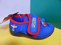 Детские тапочки на липучке Disney PIXAR  20 размер