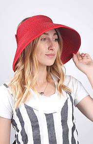 Широкополая шляпа Famo Широкополая шляпа Борнео красная - 137125