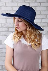 Широкополая шляпа Famo Широкополая шляпа Малайзия синяя - 137131
