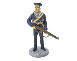 Фігурка олов'яна (Eaglemoss) Червонофлотець морської піхоти Чорноморського ВМФ №2 (1:32)
