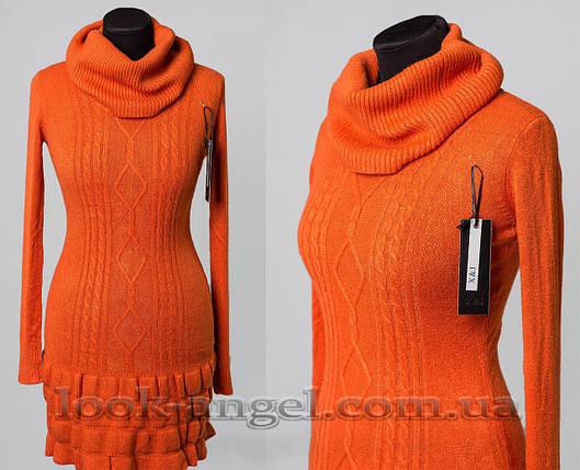 """Мягкий женский свитер """"кашемир"""" о 50/52 размер, фото 2"""