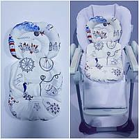 Универсальный вкладыш для новорожденных ортопедический